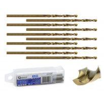 Kobaltový vrták do kovu HSS-Co, DIN 338, 3mm, 10ks GEKO