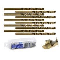 Kobaltový vrták do kovu HSS-Co, DIN 338, 4,5mm, 10ks GEKO