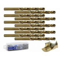 Kobaltový vrták do kovu HSS-Co, DIN 338, 9,5mm, 10ks GEKO