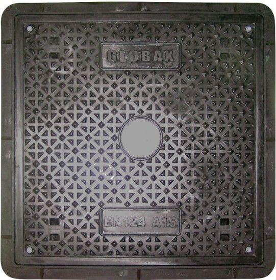 Kompozitní poklop A15 Js 600x600 - černý KAXL Nářadí-Sklad 1 | 15