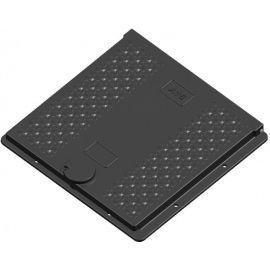 Kompozitní poklop studniční A15 Js 600x600 bez HV KAXL