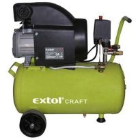Kompresor olejový 1.5kW, 24L, EXTOL Craft