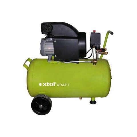 Kompresor olejový 1.5kW, 50L, EXTOL Craft