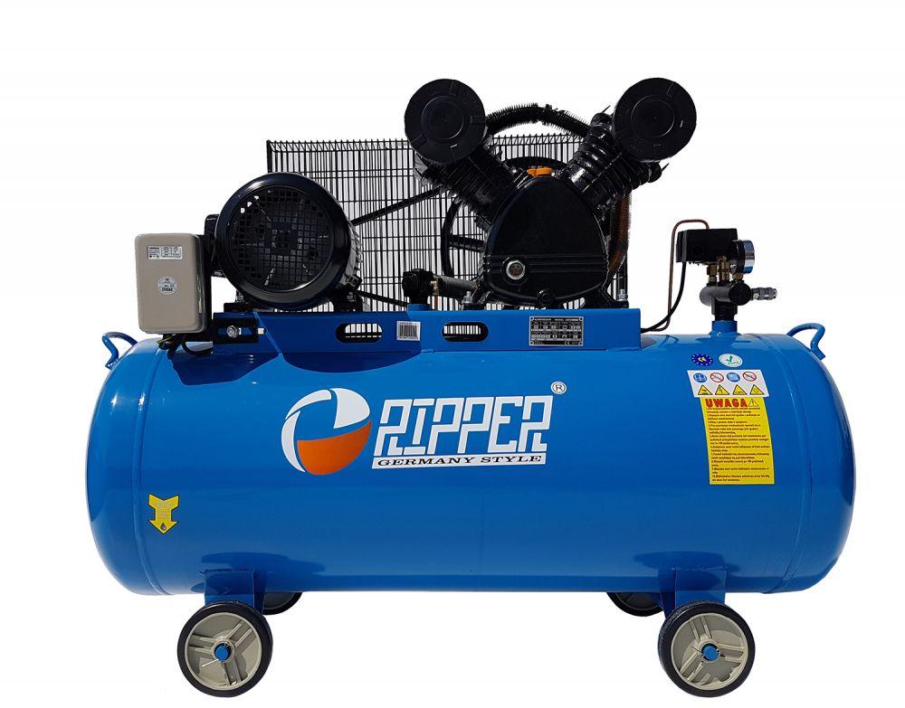 Kompresor olejový dvoupístový 200l 4kW 400V RIPPER
