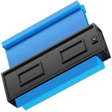Kopírovací šablona na profily 125mm KD10387 KRAFT&DELE