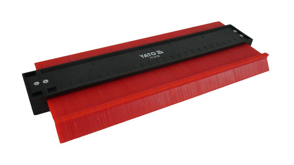 Kopírovací šablona na profily magnetická, 260mm, 44mm YATO Nářadí-Sklad 1 | 0