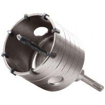 Korunkový vrták SDS PLUS do zdi, 100mm, délka stopky 100mm, EXTOL PREMIUM