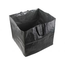 Koš na listí a zahradní odpad, 60x60x55cm, 198L, 2 držadla, PE, EXTOL CRAFT
