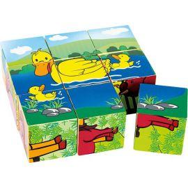 Kostkový puzzle Farma LEGLER
