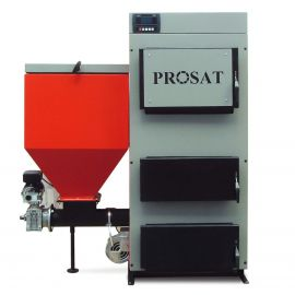Kotel na tuhá paliva s podavačem PROSAT 34kW III. třída