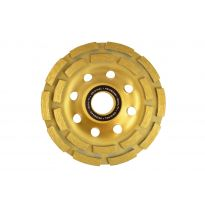Kotouč brusný diamantový do betonu, double segment 125mm, 22,2mm HEIDMANN