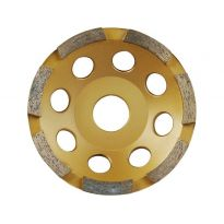 Kotouč diamantový brusný jednořadý, 125x22,2mm, EXTOL PREMIUM