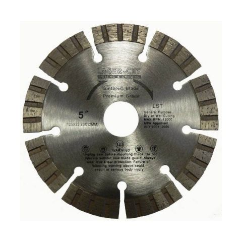 Kotouč diamantový řezný 115x22,2x12mm L ST LASER CUT