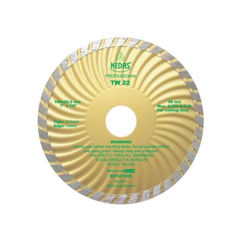 Kotouč diamantový řezný 180x22,2x8mm TW22 KEDAS