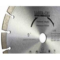 Kotouč diamantový řezný 300x25,4x12mm L SS LASER CUT