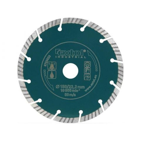 Kotouč diamantový řezný segmentový 150mm, EXTOL INDUSTRIAL