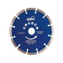 Kotouč diamantový řezný segmentový, 150x22,2mm, suché řezání, EXTOL PREMIUM