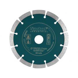 Kotouč diamantový řezný segmentový Grab Cut, 115x22,2mm, suché řezání, EXTOL INDUSTRIAL