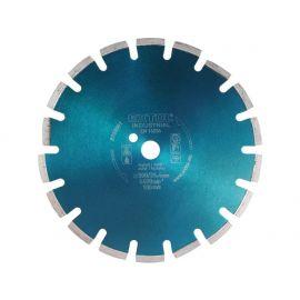 Kotouč diamantový řezný segmentový na ASFALT, 300x25,4mm, suché i mokré řezání, EXTOL INDUSTRIAL