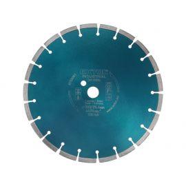Kotouč diamantový řezný segmentový na BETON, 350x25,4mm, suché i mokré řezání, EXTOL INDUSTRIAL