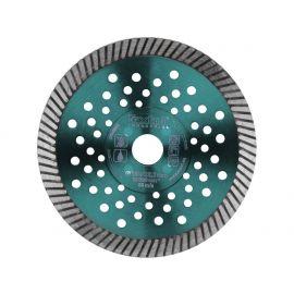 Kotouč diamantový řezný turbo Fast Cut, 150x22,2mm, suché i mokré řezání, EXTOL INDUSTRIAL