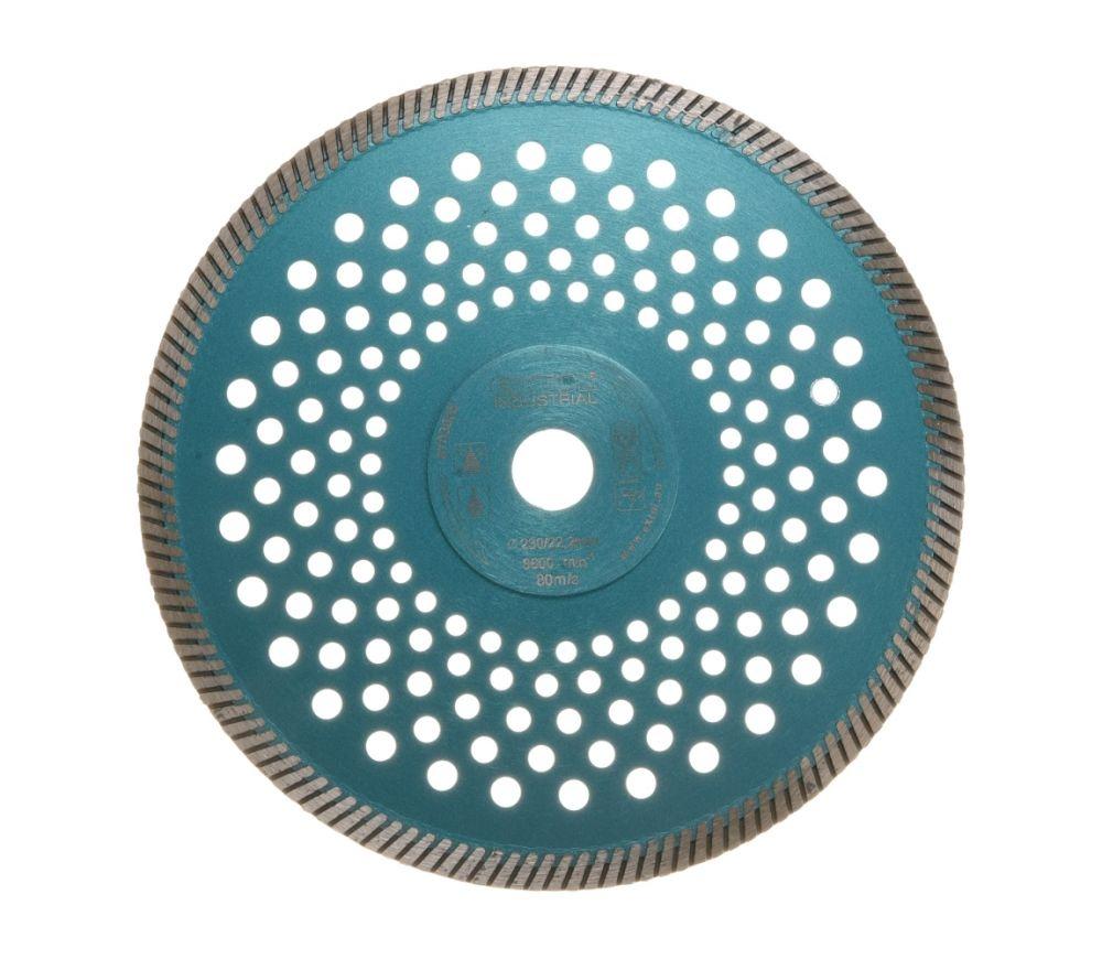 Kotouč diamantový řezný turbo Fast Cut, 230x22,2mm, suché i mokré řezání, EXTOL INDUSTRIAL Nářadí-Sklad 1 | 0.68