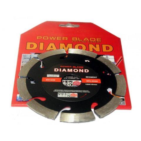 Kotouč diamantový segmentový 125mm POWER BLADE