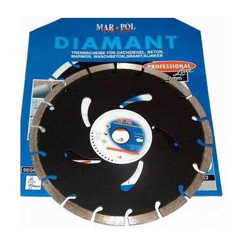 Kotouč diamantový segmentový 180mm MAR-POL