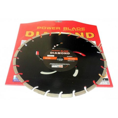 Kotouč diamantový segmentový 350mm POWER BLADE