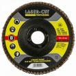 Kotouč lamelový 150x22,2mm, ZA 100 ocel, nerez Lasercut Profesional