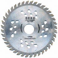 Kotouč pilový s SK plátky (vidiový), 125x40Tx22mm GEKO