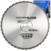 Kotouč pilový s SK plátky (vidiový), 600x40Tx32mm POWER BLADE
