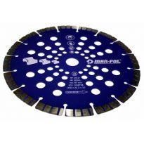 Kotouč řezný diamantový na žulu, beton, mramor, 230x22.2x10mm MAR-POL