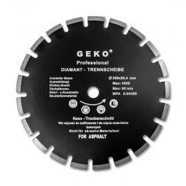 Kotouč řezný diamantový segmentový na asfalt 350x25,4mm GEKO