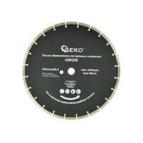 Kotouč řezný diamantový segmentový na beton 350x25,4mm GEKO