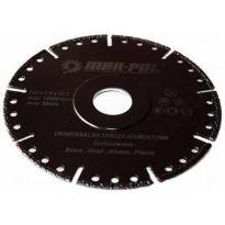Kotouč řezný diamantový univerzální, 125x2.6x22.2mm MAR-POL