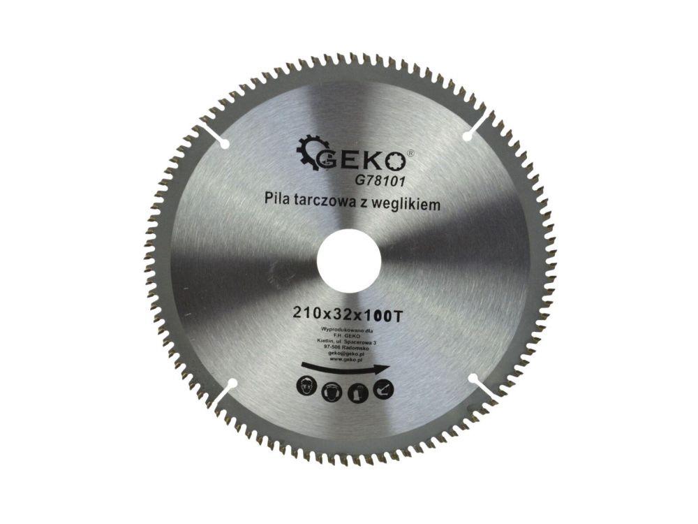 Kotouč řezný na hliník, 210x32 mm 100T, GEKO Nářadí-Sklad 1 | 0.45