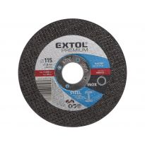 Kotouč řezný na ocel, 115x1,6x22,2mm, EXTOL PREMIUM