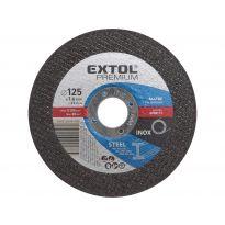 Kotouč řezný na ocel, 125x1,6x22,2mm, EXTOL PREMIUM
