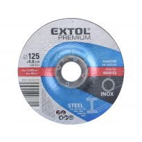Kotouč řezný na ocel/nerez, 125x0,8x22,2mm EXTOL PREMIUM