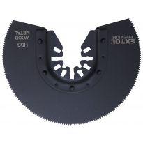 Kotouč segmentový pilový na kov, 88mm, HSS EXTOL PREMIUM