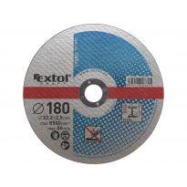 Kotouče řezné na kov, 5ks, 180x2,5x22,2mm, EXTOL CRAFT