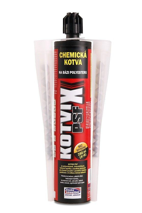 Chemická kotva KOTVIX PSF polyester bez styrenu 280ml
