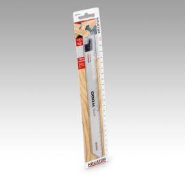 KREATOR 2ks Pilový plátek pro ocasovou pilu na dřevo 225-3