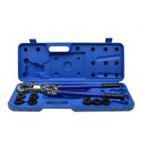 Krimpovací nástroj pro lisování spojek PEX-AL-PEX hydraulický GEKO