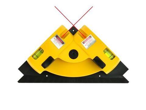 Křížová laserová vodováha na obklady GEKO
