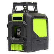 Křížový laser 360° zelený paprsek, samonivelační STREND PRO INDUSTRIAL 901CG dosah 30m/50m