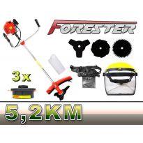 Křovinořez 3,8kW FORESTER PM-KS-430 s výbavou
