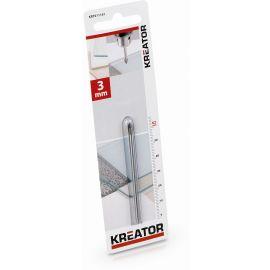 KRT011101 - Vrták do obkladů, dlaždic a skla 3 x 62 mm KREATOR