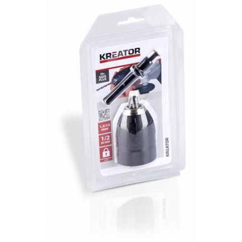 KRT014005 - Rychloupínací sklíčidlo se zámkem + SDS KREATOR